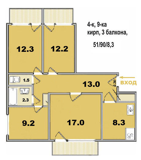 Дизайн-проект однокомнатной квартиры в Москве: цены на