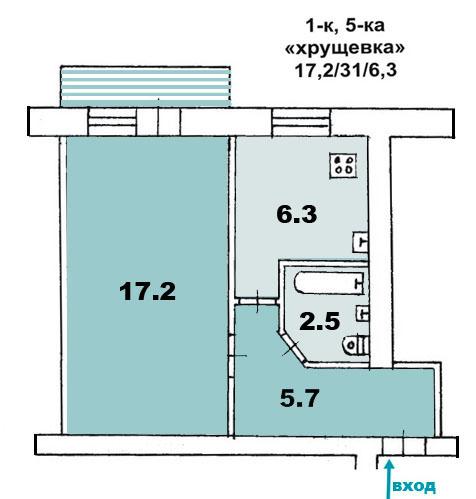 Перепланировка квартир в Екатеринбурге - проект